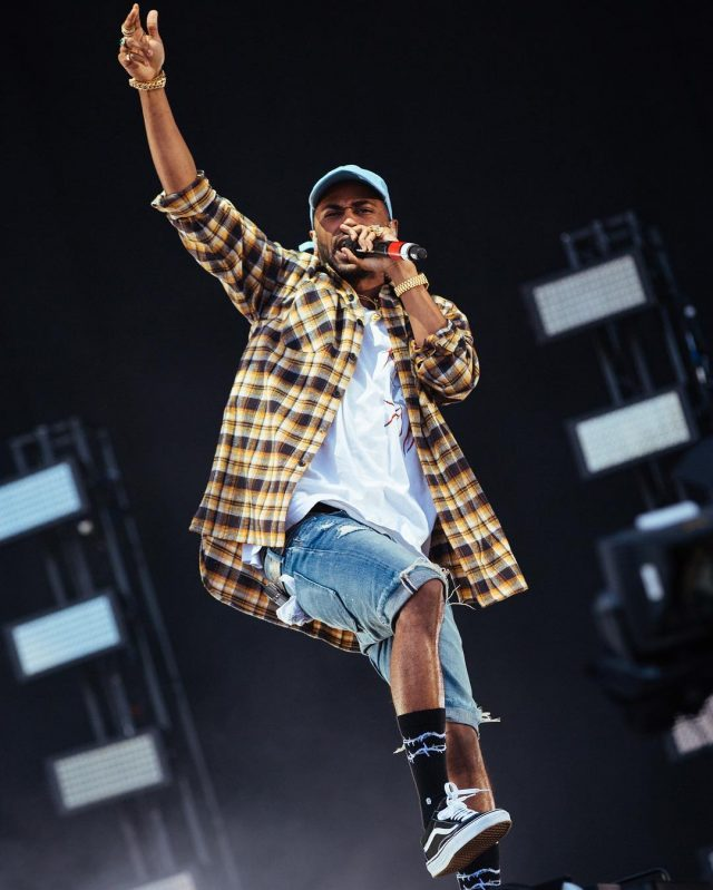 Big Sean Wearing Fear of God Flannel And Vans Sneakers