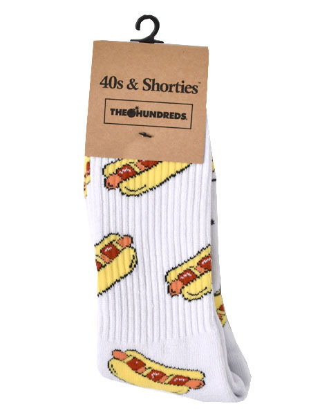40s & Shorties x The Hundreds Bacon Dog Socks