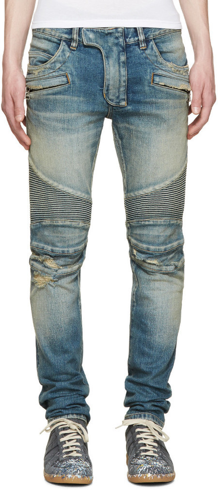balmain-blue-crash-biker-jeans