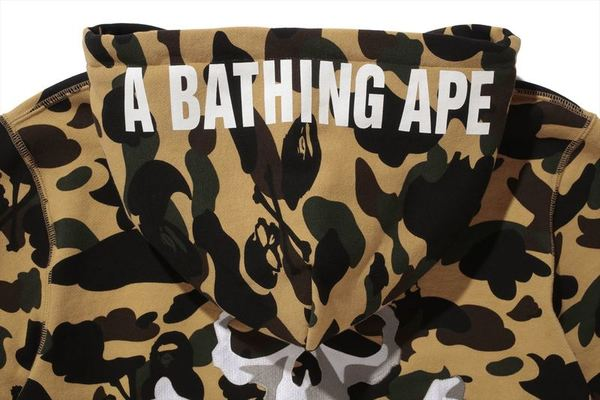 A BATHING APE × mastermind JAPAN CAMO PULLOVER HOODIE 2