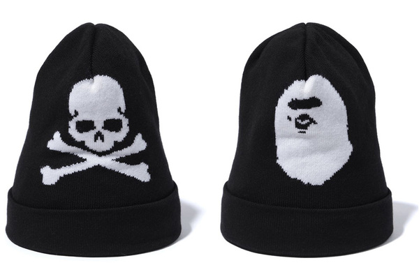 A BATHING APE × mastermind JAPAN KNIT CAP 2