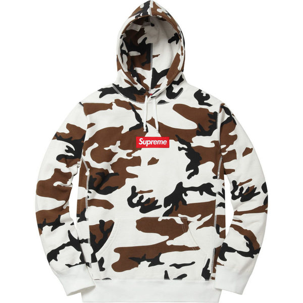 Supreme Box Logo Hooded Sweatshirt 2