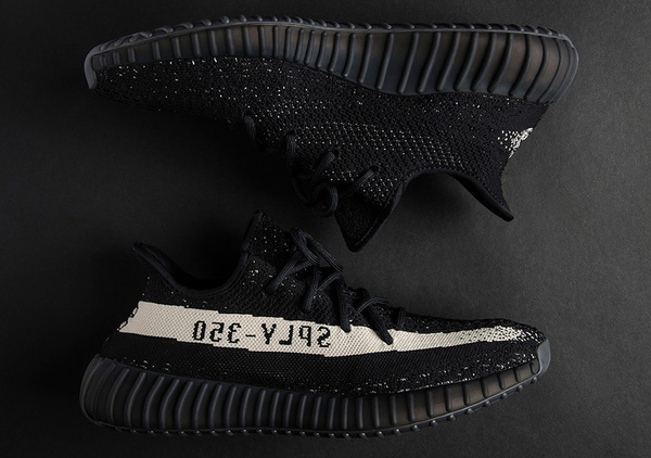Yeezy Boost 350 V2 Black White 1