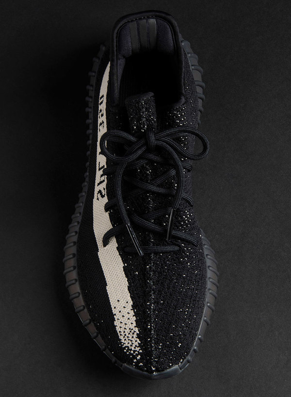 Yeezy Boost 350 V2 Black White 4