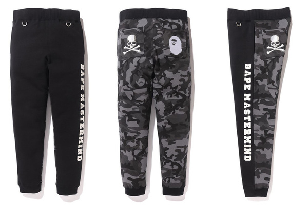 A BATHING APE × mastermind JAPAN SLIM SWEAT PANTS 1