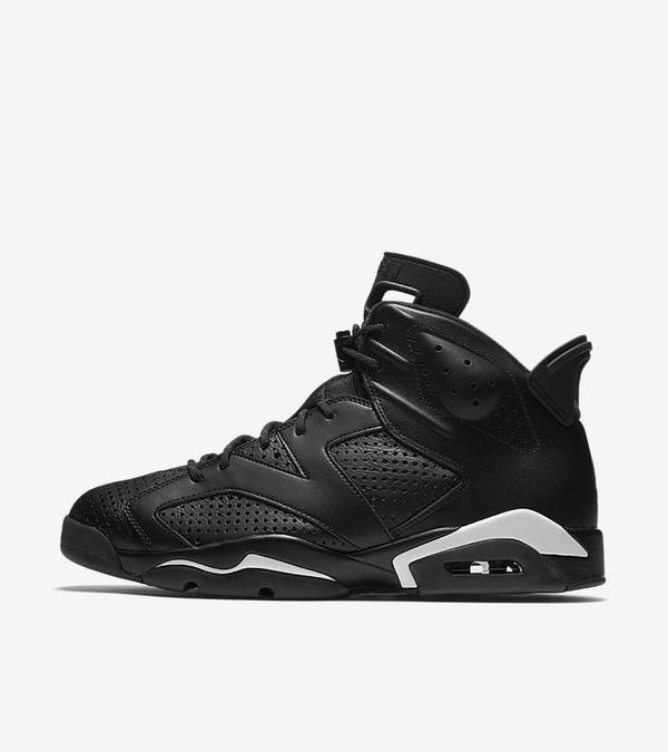 "Nike Air Jordan 6 ""Black Cat"" 1"