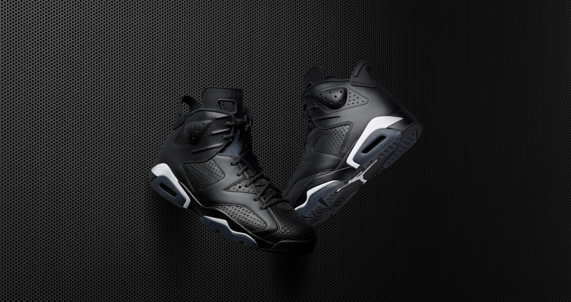 "Nike Air Jordan 6 ""Black Cat"" Top"