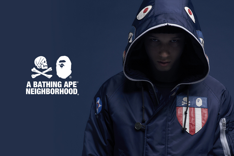 A BATHING APE® x NEIGHBORHOOD® Top