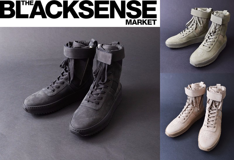 "THE BLACKSENSE MARKET にて Fear of God Military Sneaker ""Tonal Pack"" 発売決定!"