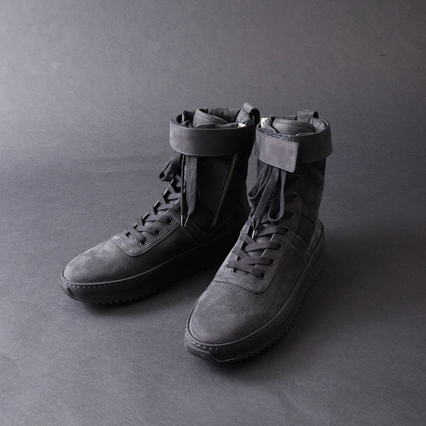 "Fear of God Military Sneaker ""Tonal Pack"" Black"