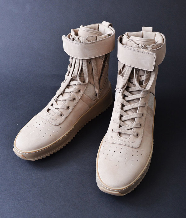 "Fear of God Military Sneaker ""Tonal Pack"" Desert Beige"