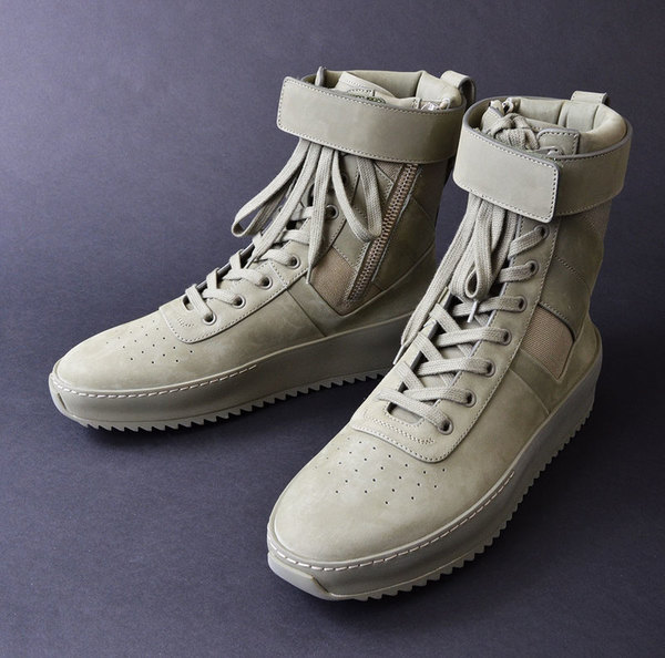 "Fear of God Military Sneaker ""Tonal Pack"" Army Green"