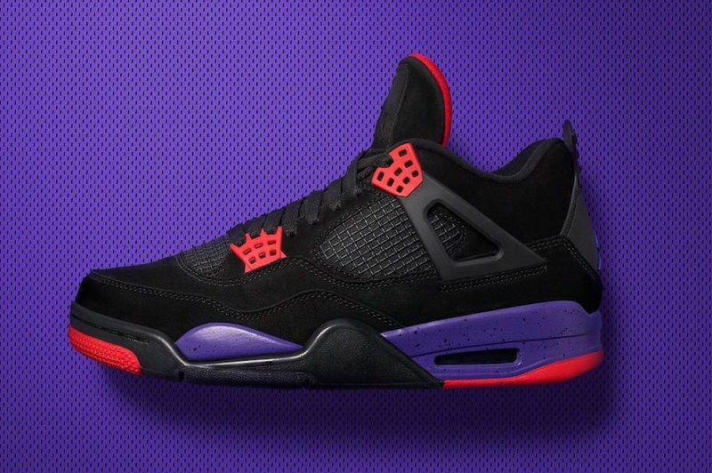 NIKE AIR JORDAN 4 RAPTORS TOP