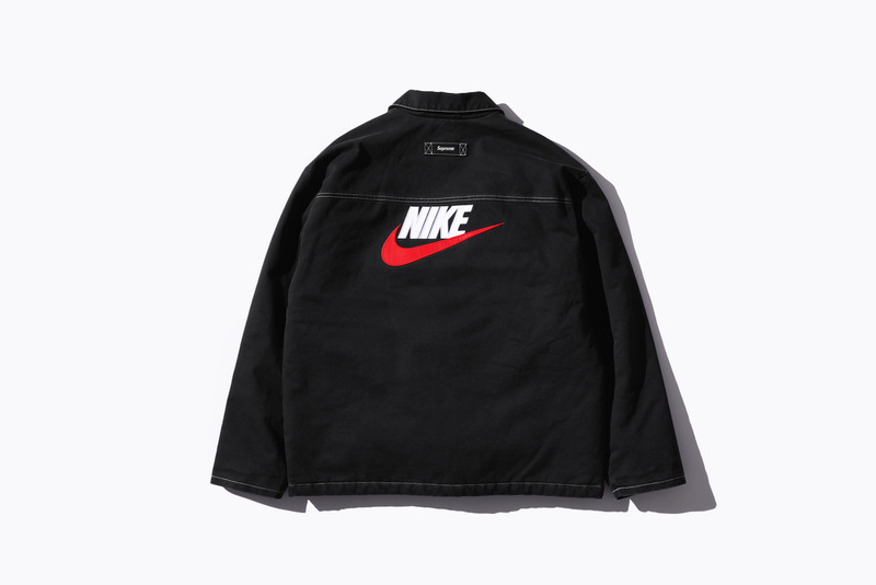 supreme × nike 2018 fw top
