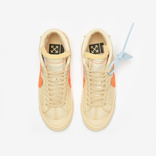 Off-White × NIKE BLAZER MID SPOOKY PACK 05