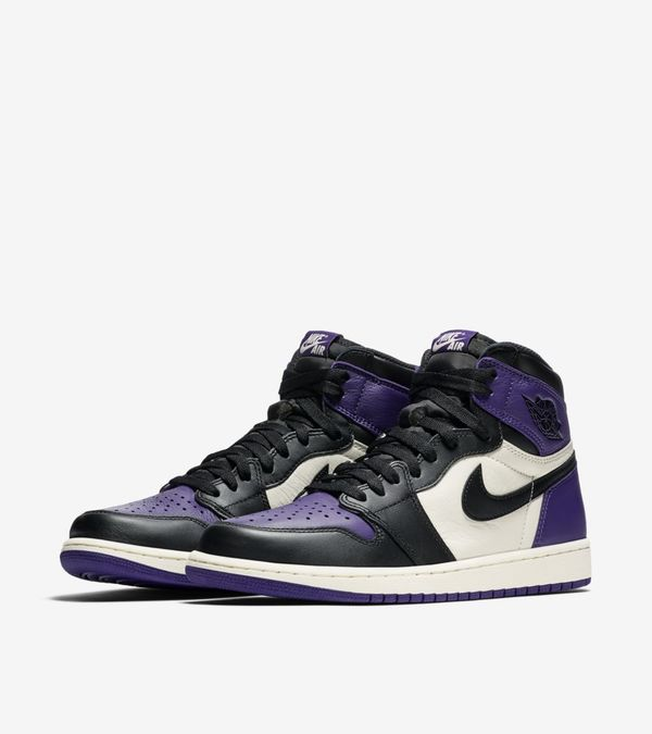 Nike Air Jordan 1 Retro High OG Purple & Green 01