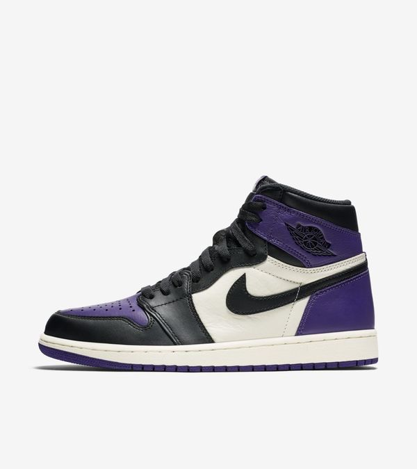Nike Air Jordan 1 Retro High OG Purple & Green 02