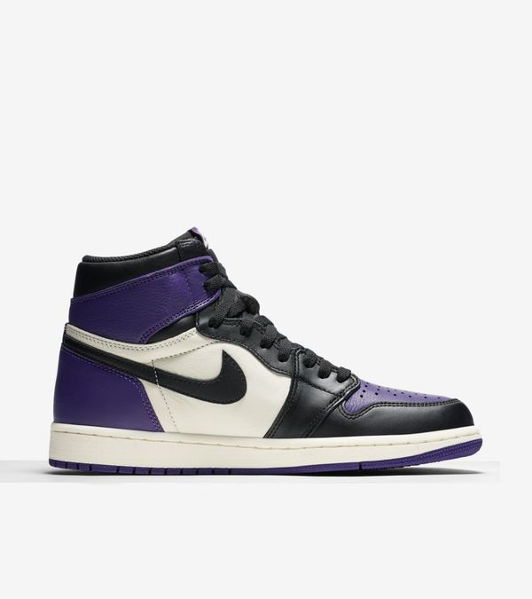 Nike Air Jordan 1 Retro High OG Purple & Green 03