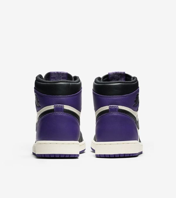 Nike Air Jordan 1 Retro High OG Purple & Green 05