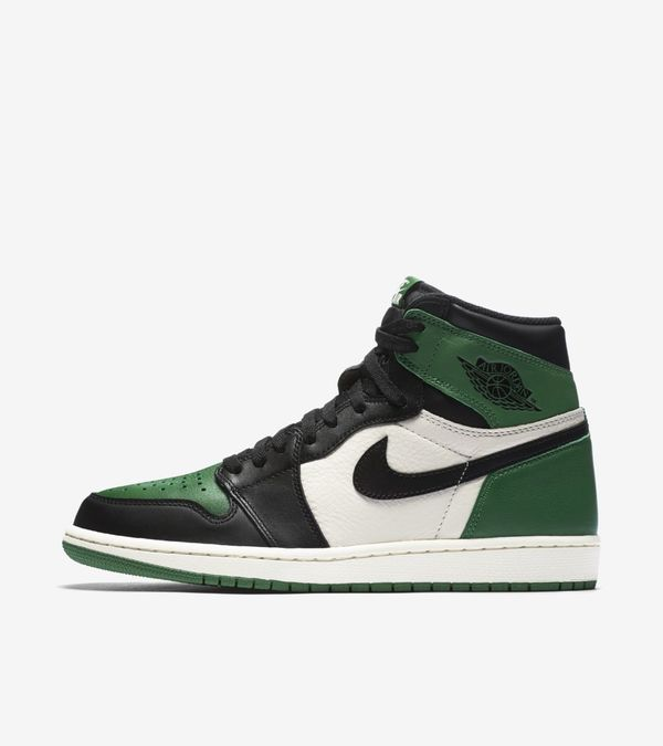 Nike Air Jordan 1 Retro High OG Purple & Green 08