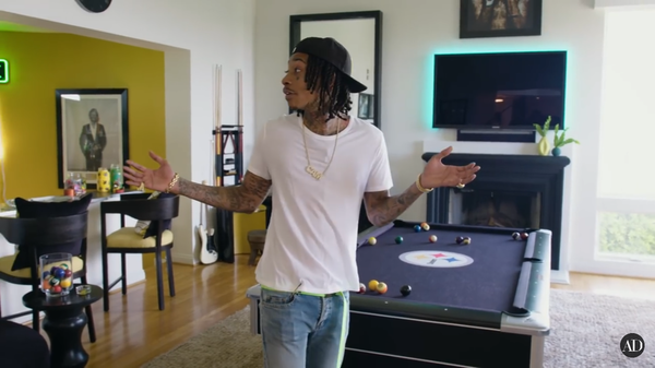 Wiz Khalifa's $4.6 Million L.A. House 06