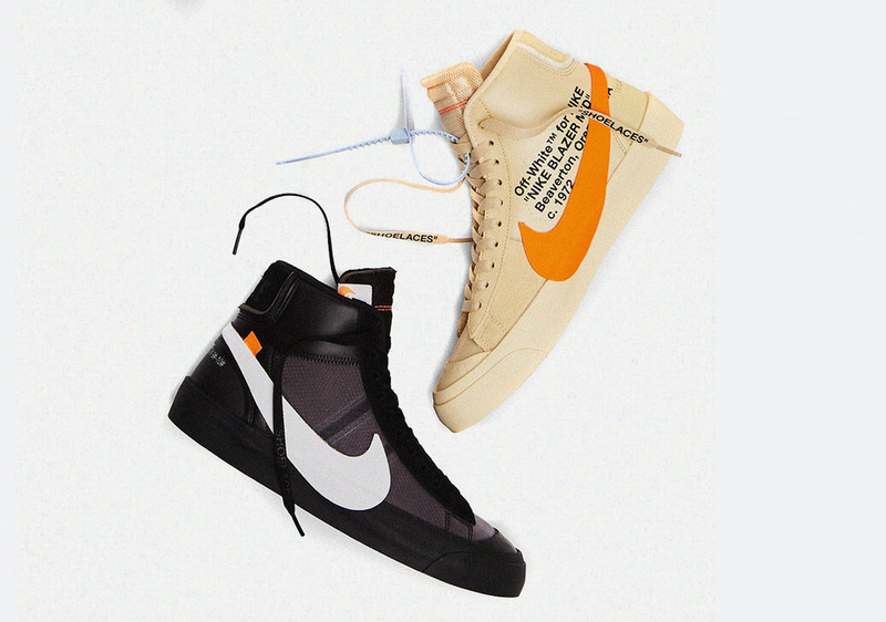 Off-White × NIKE BLAZER MID SPOOKY PACK top