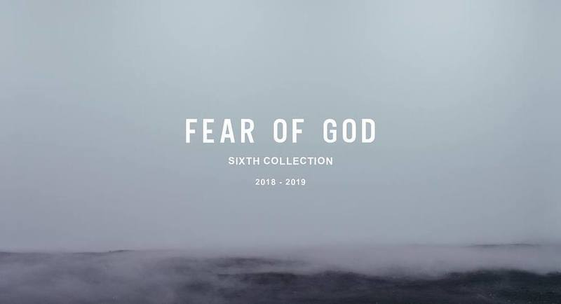 Fear of God Sixth Collection が9月6日(木)ついに公開!【随時更新】