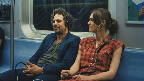"Keira Knightley and Mark Ruffalo in ""Begin Again"""