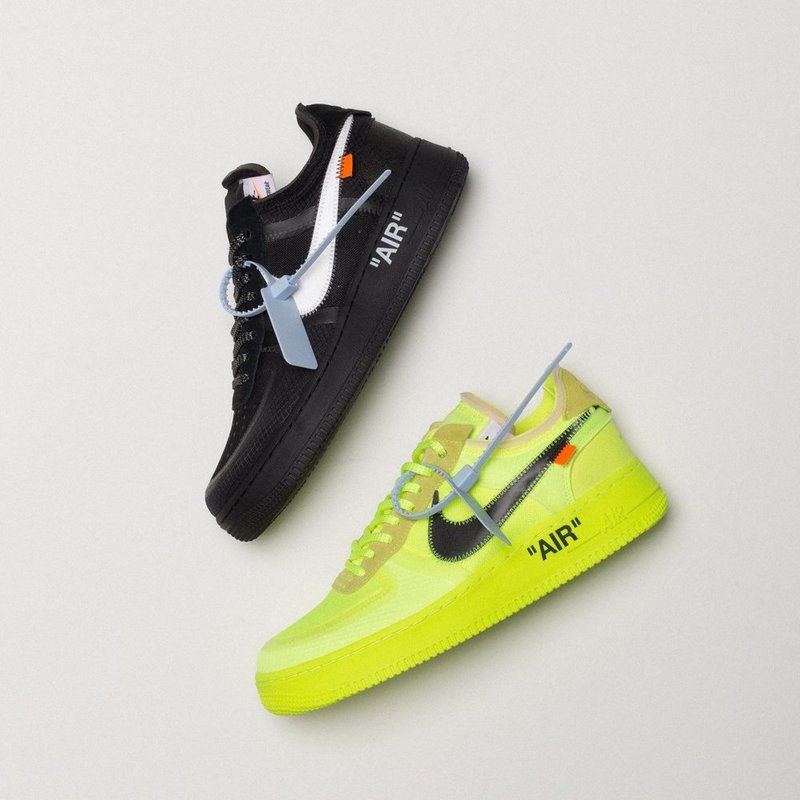 Off-White × Nike Air Force 1 Black & Volt が12月19日(水)リリース!【直リンク有り】