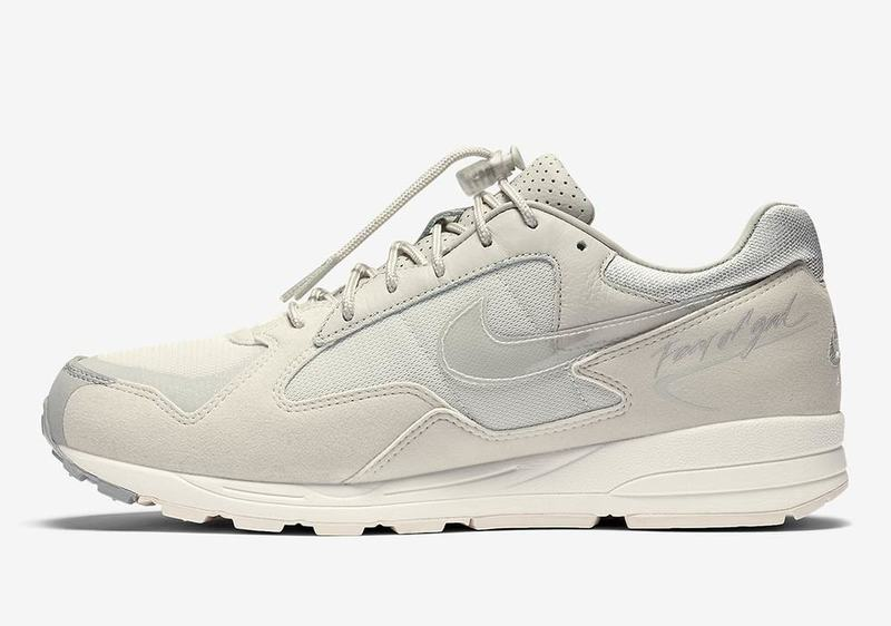 Fear Of God × Nike Air Skylon 2 Light Bone top