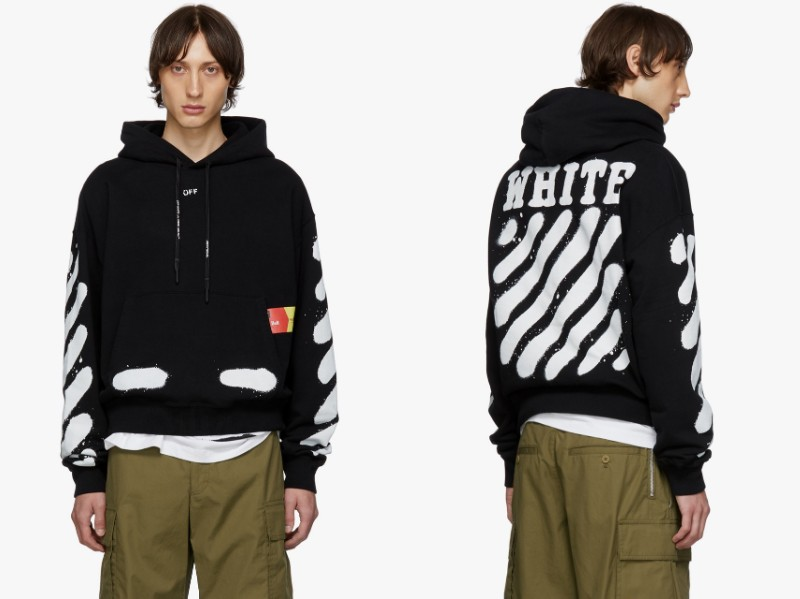 Off-White × SSENSE top