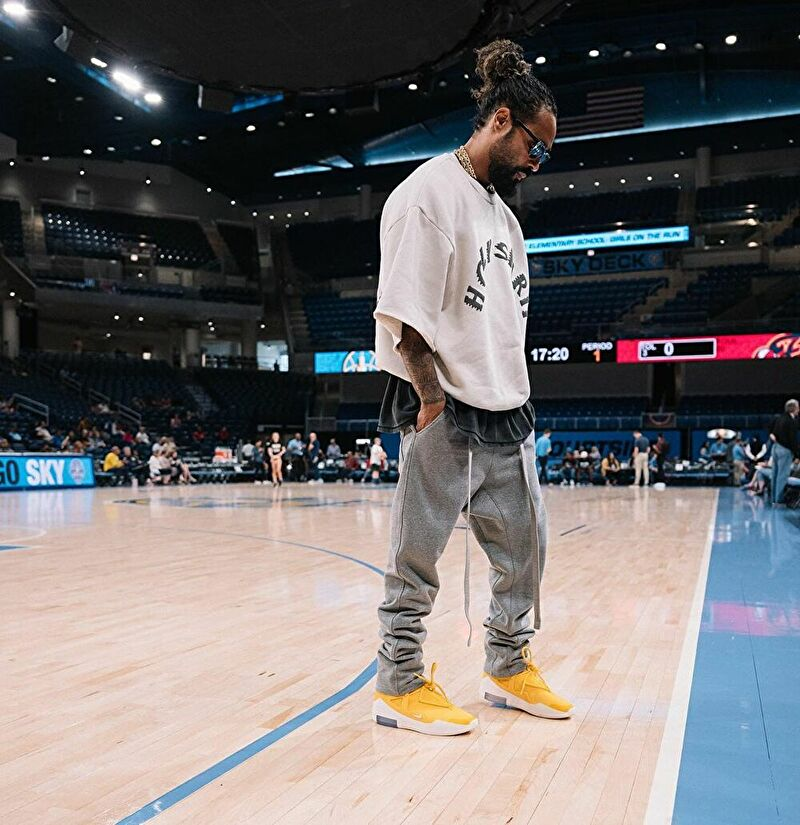 Jerry Lorenzo Wearing Remake Kanye West Holy Spirit Crewneck